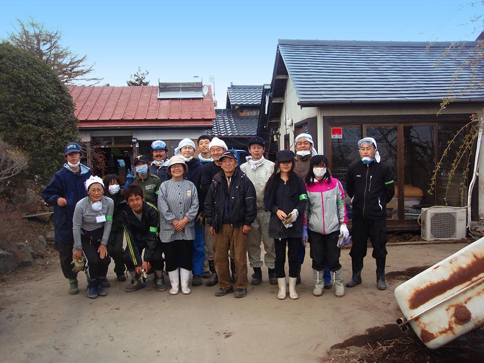 宮城県東松島市でのボランティア活動